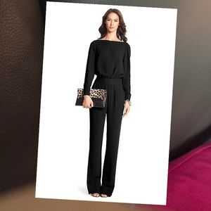 DVF Cynthia Long Sleeve Jumpsuit